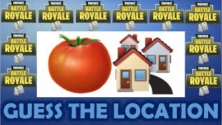 CAN YOU GUESS THE FORTNITE LOCATION BY THE EMOJI?