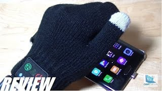 REVIEW: Touchscreen Bluetooth Talking Gloves?!