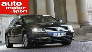Test VW Phaeton
