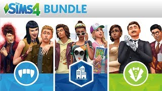 The Sims 4 Bundle: Xbox and PS4 Official Trailer