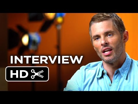 The Best Of Me Interview - James Marsden (2014) - Michelle Monaghan Romance Movie HD