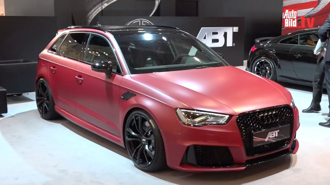 Abt Audi RS3 Essen Motor Show 2015 - YouTube