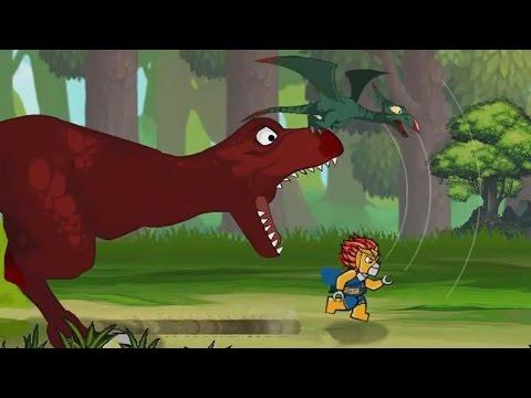 Мультик про динозавра Друзья познаются в беде