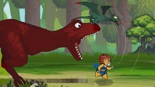 Мультик про динозавра Друзі пізнаються в біді