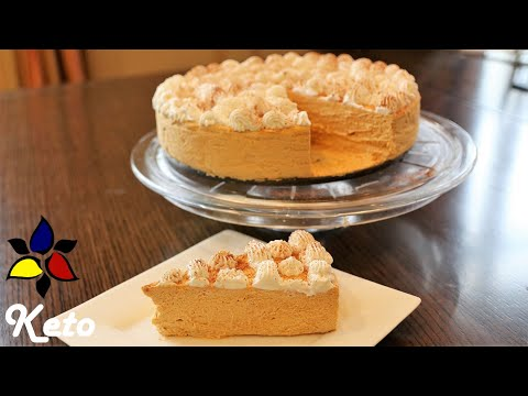 No Bake Pumpkin Cheesecake Mousse – keto, sugar free, gluten free | Keto Recipe | Easy Keto Dessert