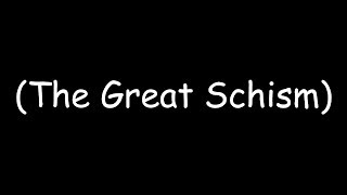 the great western schism