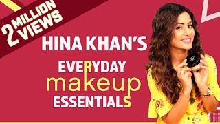 Video Hina Khan: What's in my makeup bag | Bollywood | Pinkvilla | Fashion download MP3, 3GP, MP4, WEBM, AVI, FLV Mei 2018