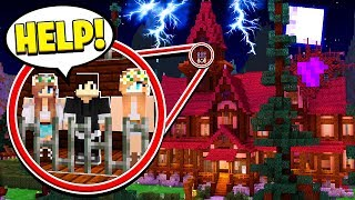 MY FRIENDS ARE TRAPPED IN A CURSED MANSION! (Minecraft)