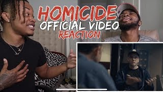 Logic - Homicide ft. Eminem | HILARIOUS!! (REACTION)