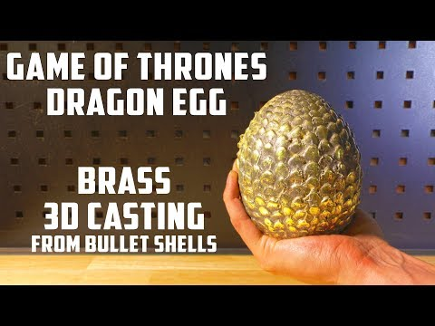 Thumbnail: Casting Brass Game Of Thrones Dragon Egg