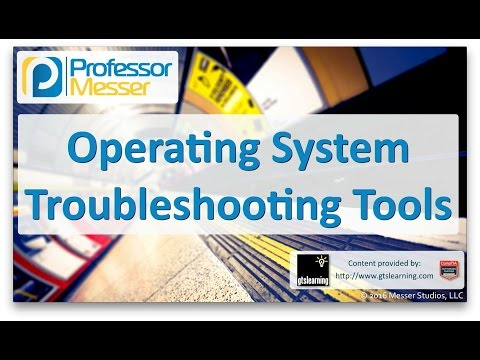 Descargar Video Operating System Troubleshooting Tools - CompTIA A+ 220-902 - 4.1