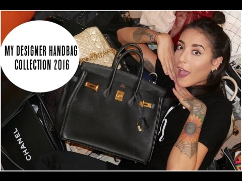 My Designer Handbag Collection 2016 | Lexi A-N