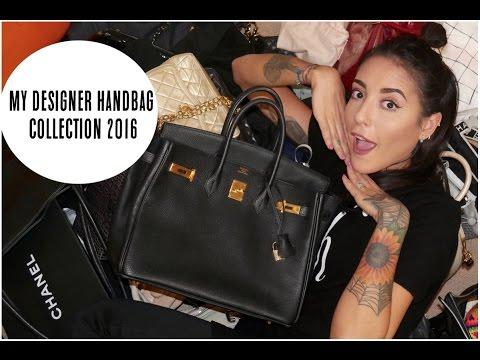 My Designer Handbag Collection 2016 | Lexi A-N