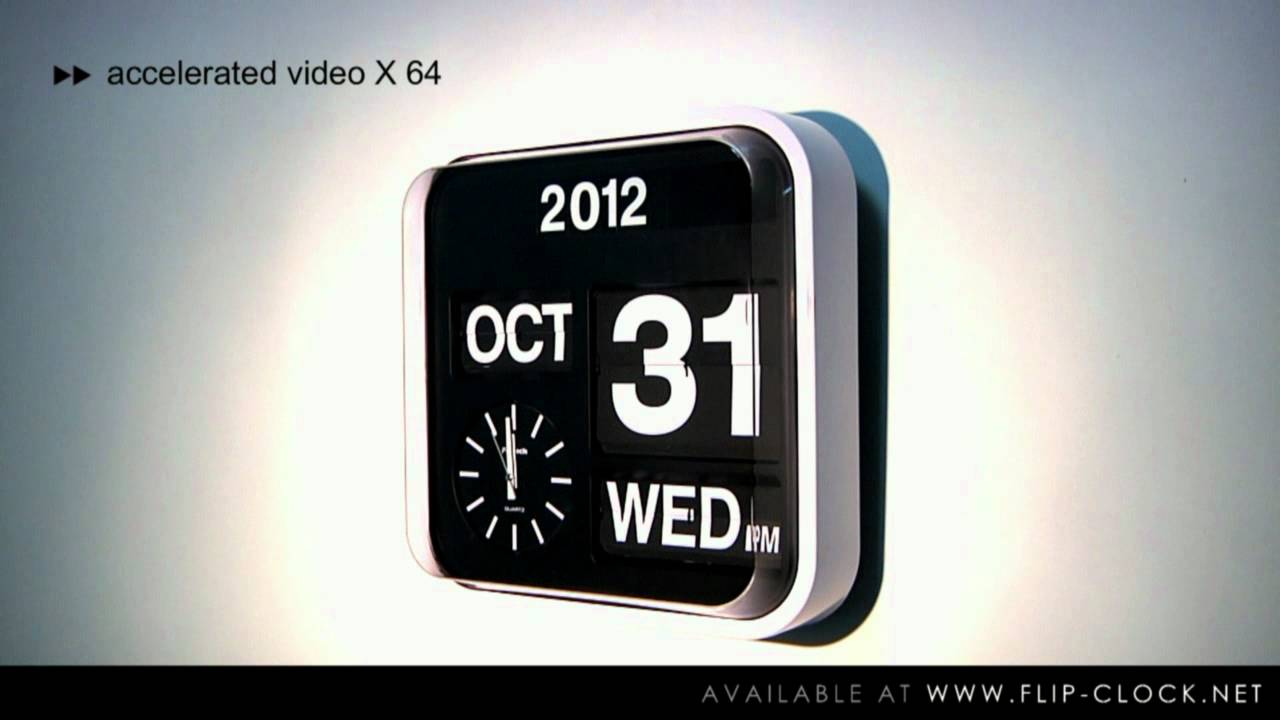 Fartech flip clock official product video by flip clock fartech flip clock official product video by flip clock model ad630 youtube amipublicfo Choice Image