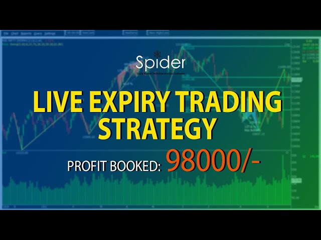 LIVE EXPIRY TRADING   98000 PROFIT BOOKED   TRADING STRATEGY   F&O TRADING