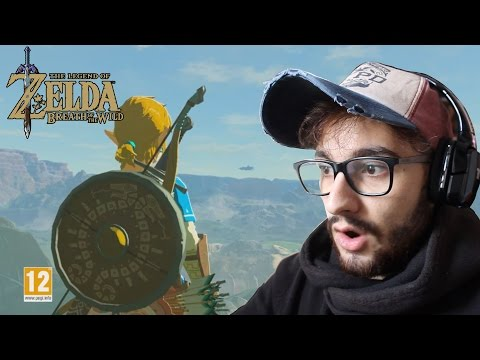 REACCIÓN | The Legend Of Zelda Breath of the Wild Trailer FINAL