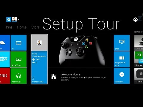 Xbox One Console Setup Process