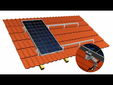 TRIC A - Roof Parallel On-Roof Solar PV Mounting System