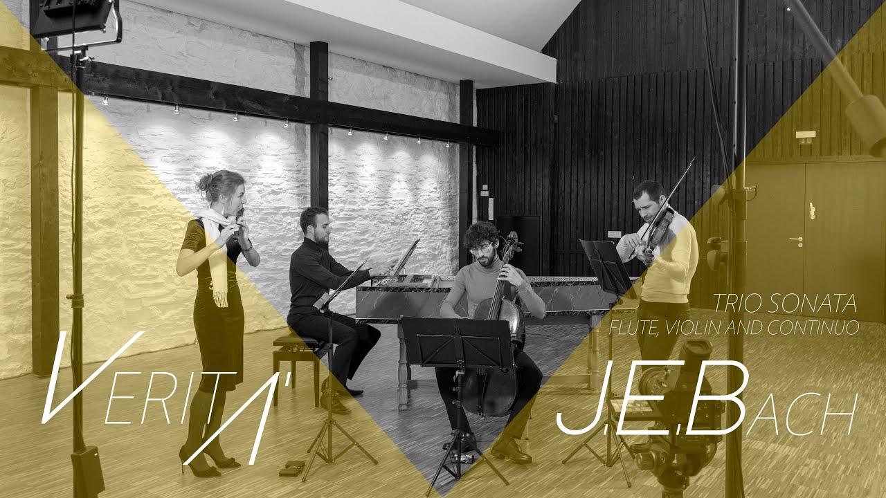 VERITÀ - J.E.Bach Trio Sonata in E minor for flute, violin and basso continuo