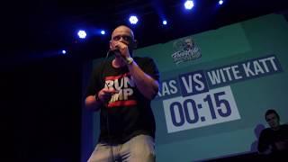 MONKAS vs WITE KATT │ FREESTYLE MC BATTLE 2017