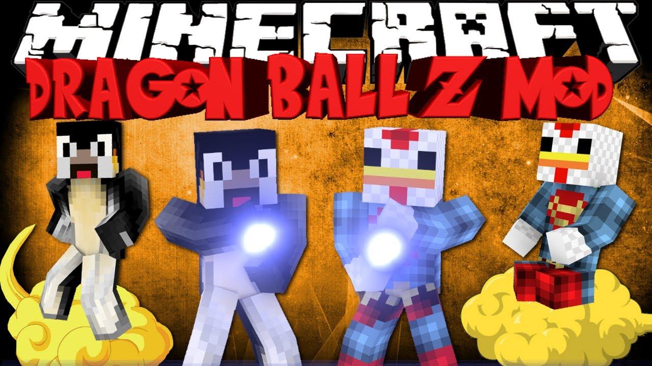 Minecraft: Dragon Ball Z mod - SUPER SAIYAN ... - YouTube