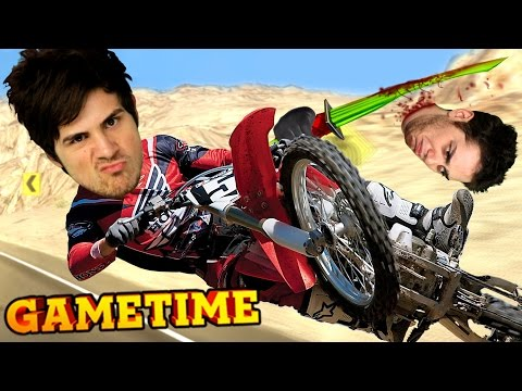 FACE SMASHING IN ROAD REDEMPTION (Gametime w/ Smosh Games) |