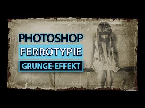 FERROTYPIE (Tintype) In Photoshop Simulieren | Tutorial