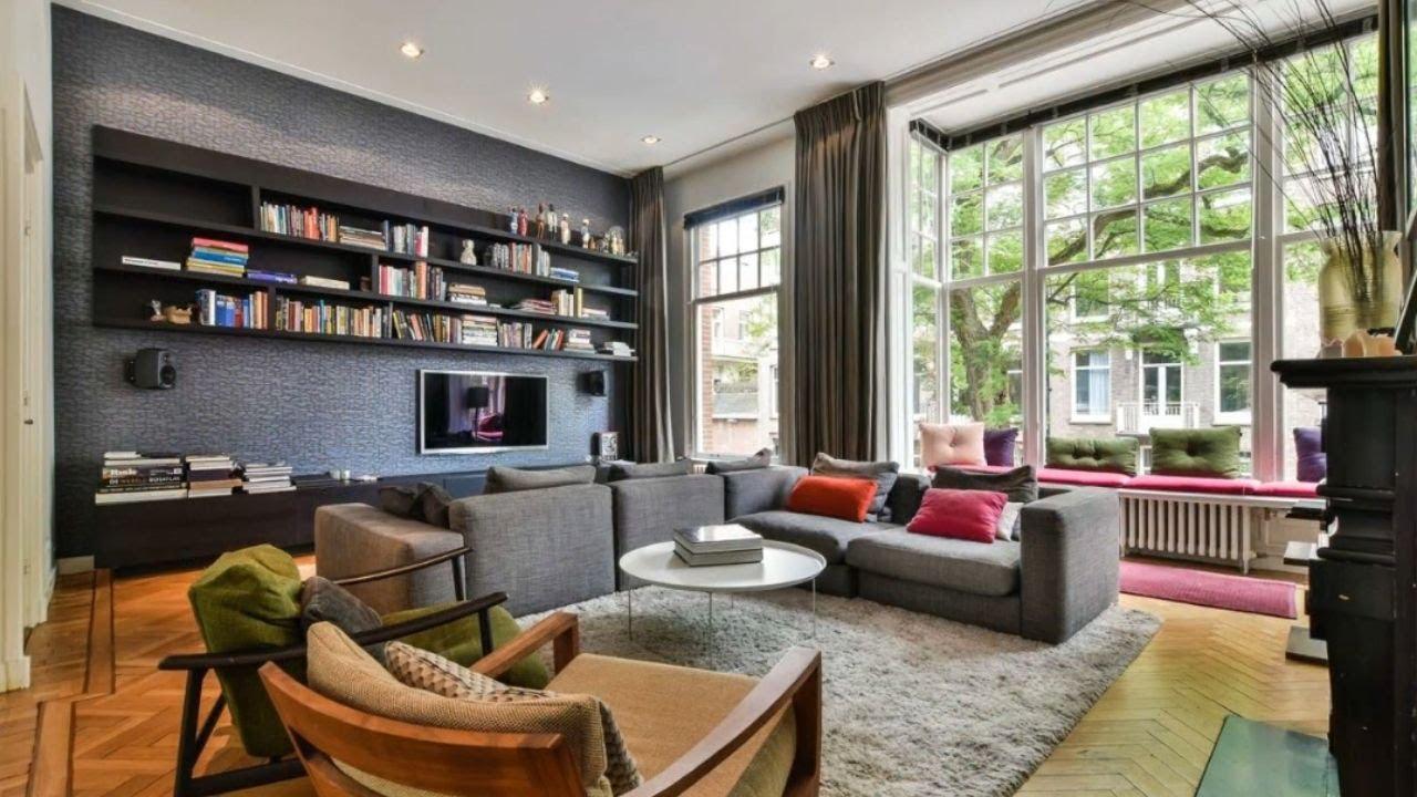 Interior Design | Modern Amsterdam House Tour - YouTube on House Interior Ideas  id=83647