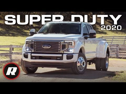 The 2020 Ford F-Series Super Duty will have more power and features than ever | First Look