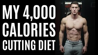My 4,000 Calorie Cuтting Diet | Full Day of Eating