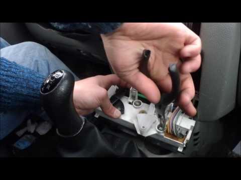 Luces aire acondicionado y calefacción del coche