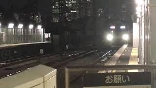 東京メトロ10000系10116F祐天寺駅通過