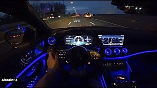 The Mercedes-AMG GT 63 S 2021 Test Drive at NIGHT
