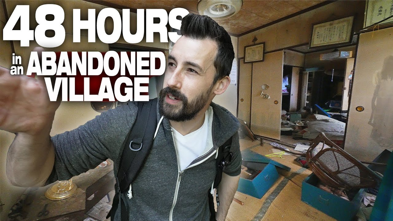I Spent 48 Hours in an Abandoned Village in Japan