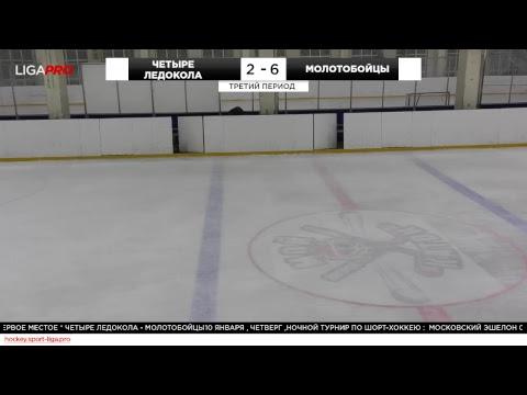 Шорт хоккей. Ночной турнир. Лига Про. 10 января 2019 г
