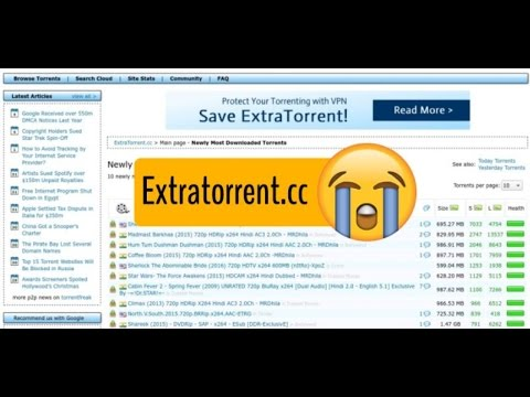 ExtraTorrent has shut down permanently