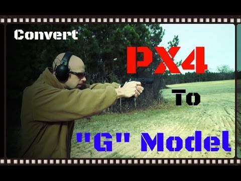 How To Convert A Beretta PX4 Type F To A Type G [Decocker Only] (HD)