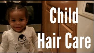 3 Gentle Hairstyles for Children: 4C Child Hair Care