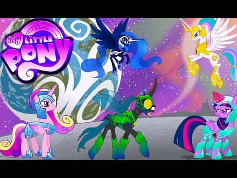 My Little Pony Transform Princess Celestia Luna Twilight