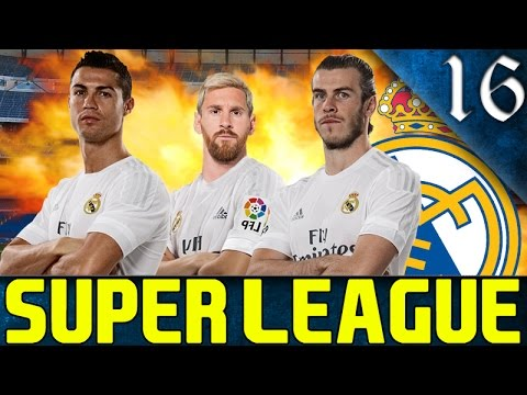FIFA 16 - SUPER LEAGUE CAREER MODE REAL MADRID EP. 16 - DERBY DAY!