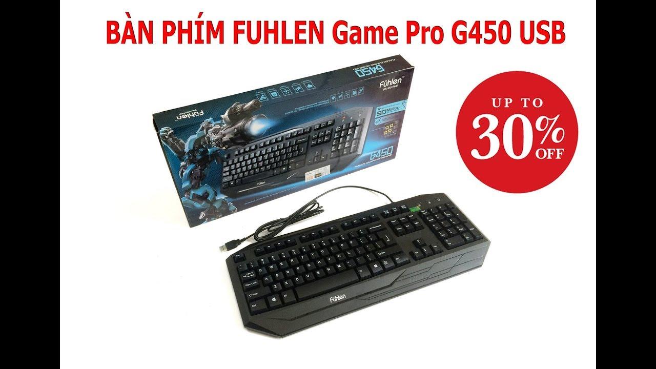 Bàn phím Fuhlen Game Pro G450