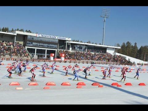 Международные соревнования по биатлону в Тюмени
