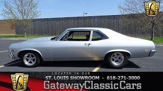 1970 Chevy Nova for sale at Gateway Classic Cars STL
