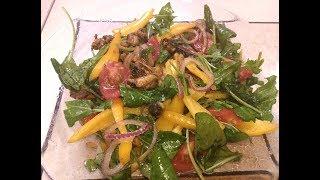 ПОСТные рецепты! Легкий и вкусный салат с мидиями!