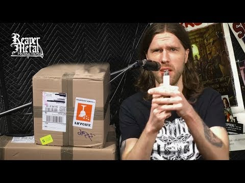 Unboxing 300 Grave Violator CDs