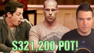 Tom Dwan Is STUNNED By Antonius, Stumped On The River For A Huge Poker Pot thumbnail
