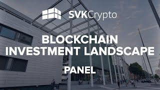 SVK Crypto speaking at the Global Fintech & Blockchain Conference
