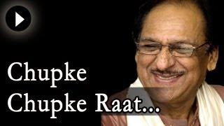 Chupke Chupke Raat Din - Ghulam Ali Songs - Ghazal - Live Concert - Mehfil Mein Baar Baar