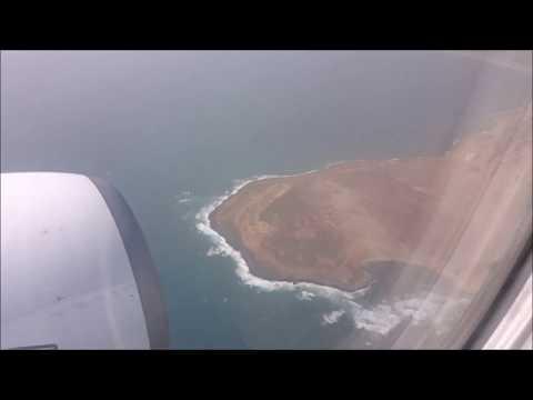 Landing Sal, Cap Verde, Amílcar Cabral International Airport - Boeing Transavia