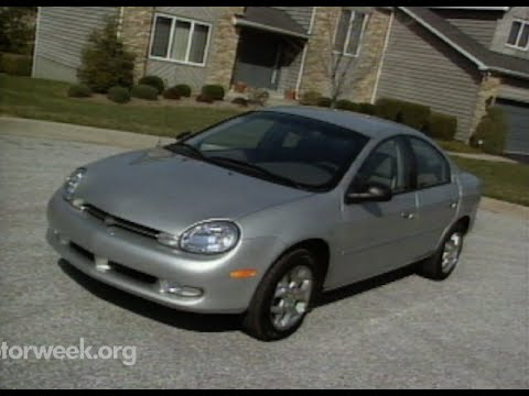 Motorweek Retro Review 2000 Dodge Plymouth Neon